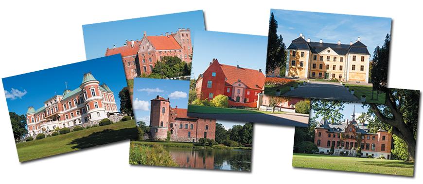 Tolv skånska slott